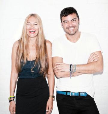 Amparo Utrilla y Miguel Reveriego.