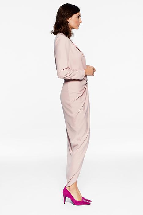 Vestido largo de raso – Vestido Casilda