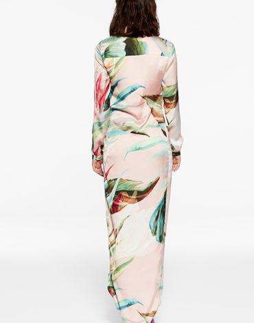 Vestido con cuello de esmoquin – Vestido Eva