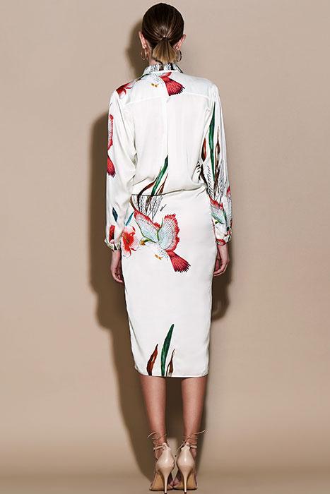 Vestido ablusado – Vestido Lucrecia Estampado