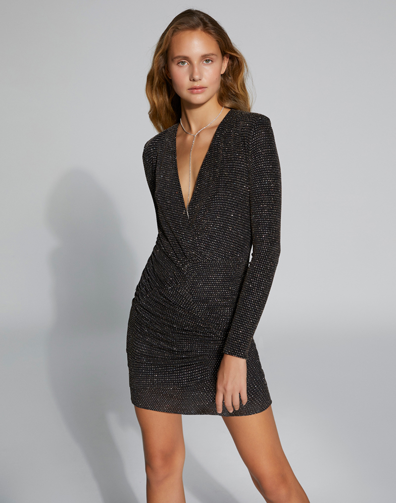 vestido sofia negro