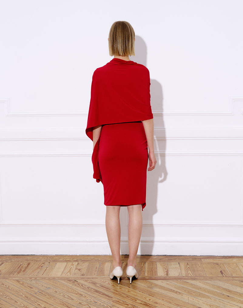 COLIBRÍ RED DRESS