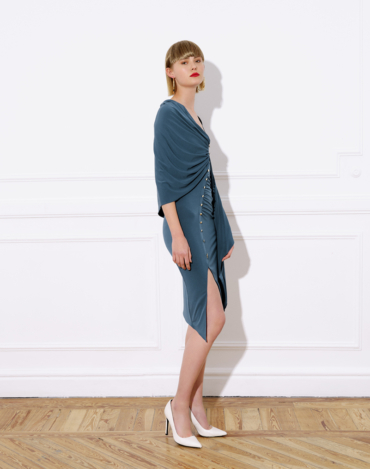 midi colibrí dress