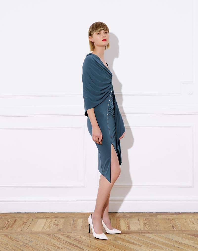 midi colibrí dress