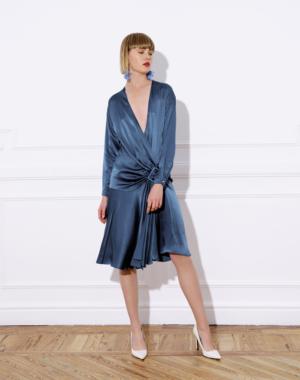 Vestido Laura LOLALI azul