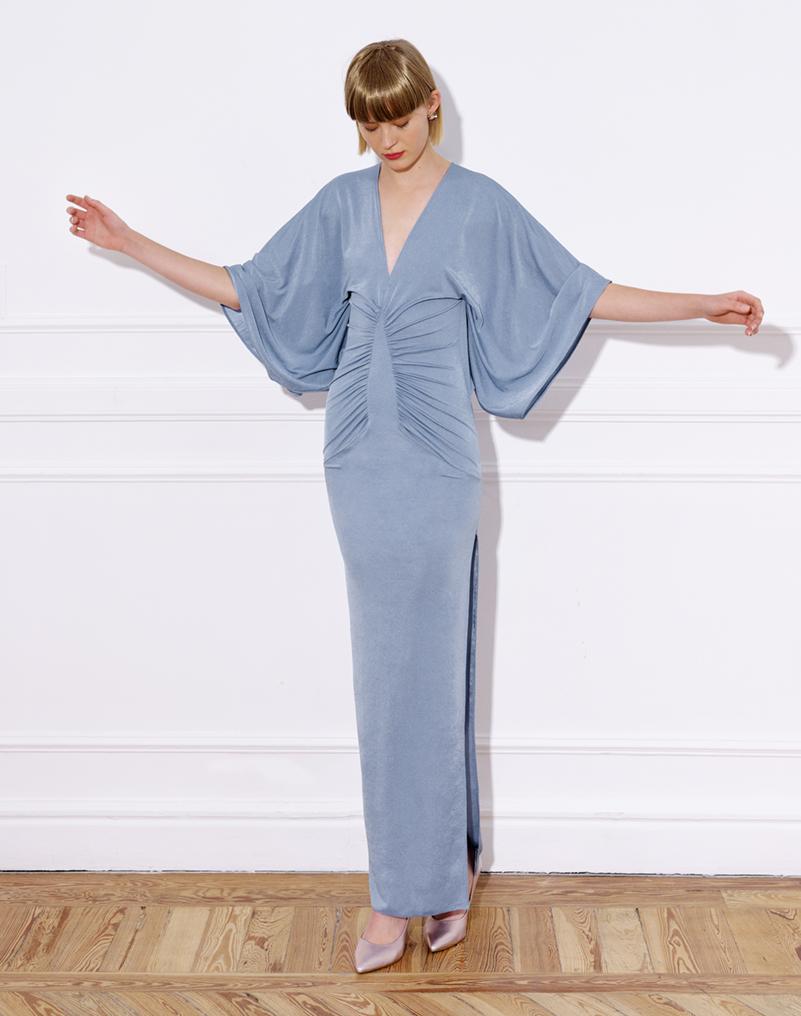 vestido_largo_punto_mangas_kimono_vestido_lauren_azul