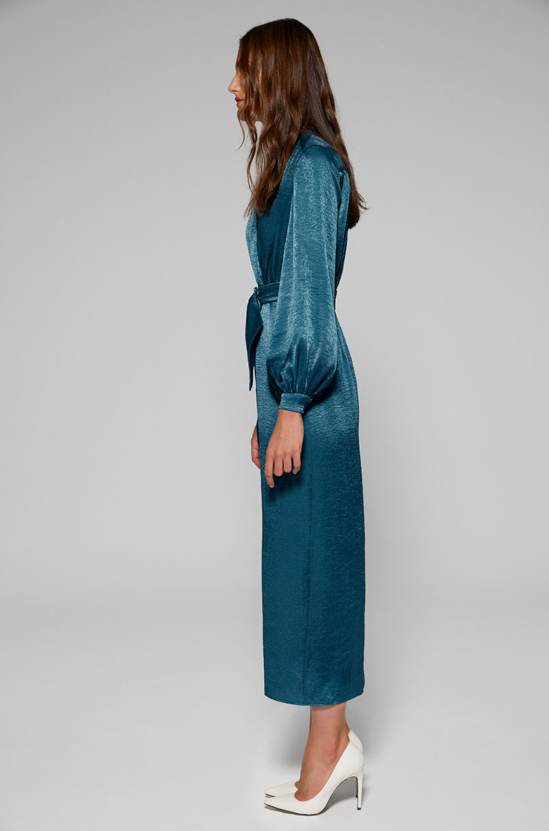 Vestido constanza azul Lolali