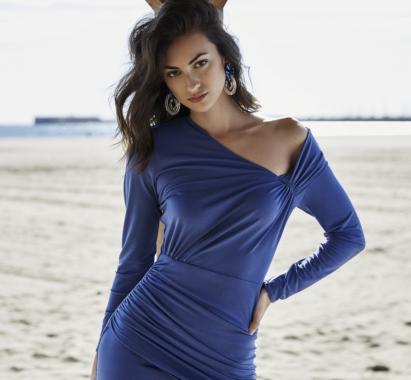 Vestido Bruna Azul Lolali Primavera Verano 2021