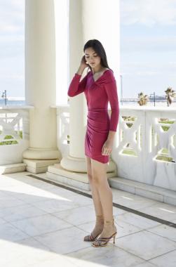 Vestido Bruna Rosa Lola Li Primavera Verano 2021