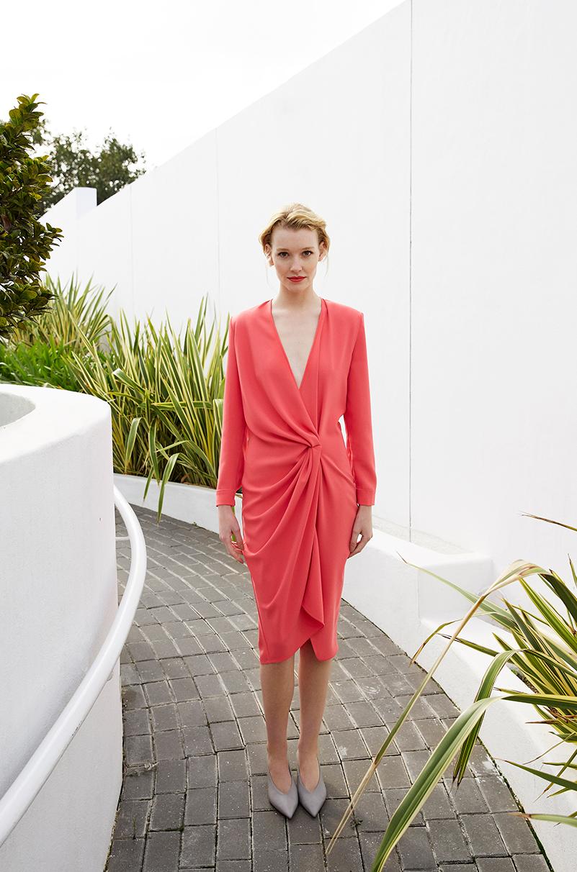 Vestido Petra Color Grosella Lola Li